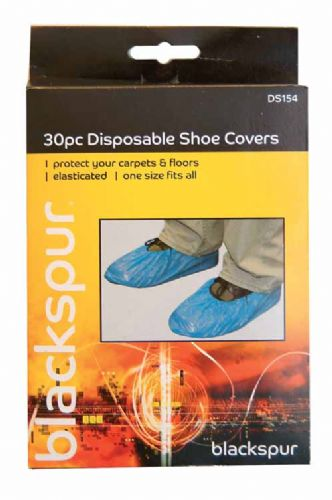 DISPOSABLE SHOE COVERS (PACK 30)  BB-DS154